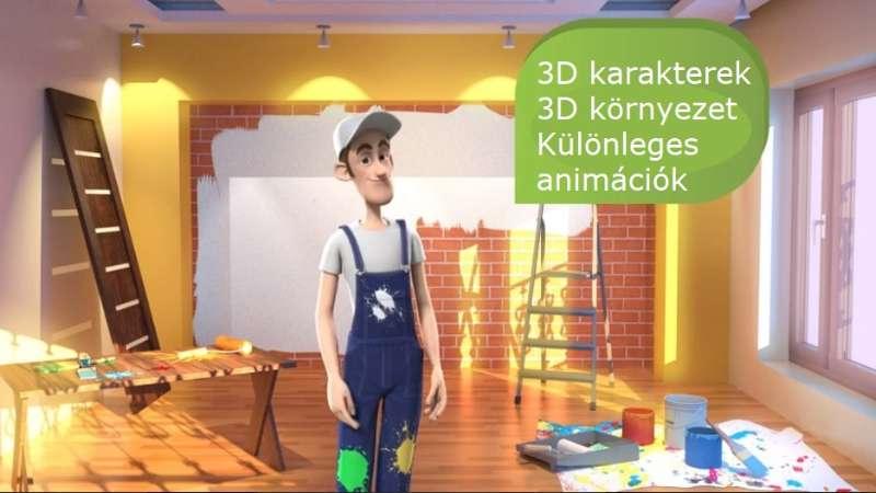 3D animációs videó
